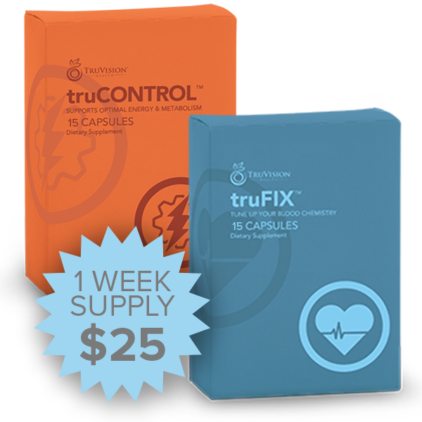 One Week 7 Day Trial Pack Purchase Weight Loss Program