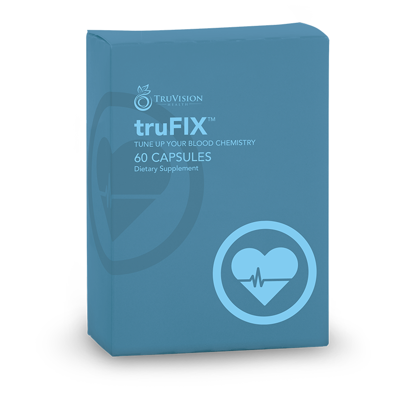 trufix Natural Plant Extracts Healthy Blood Sugar & Cholesterol Maintains Liver Function