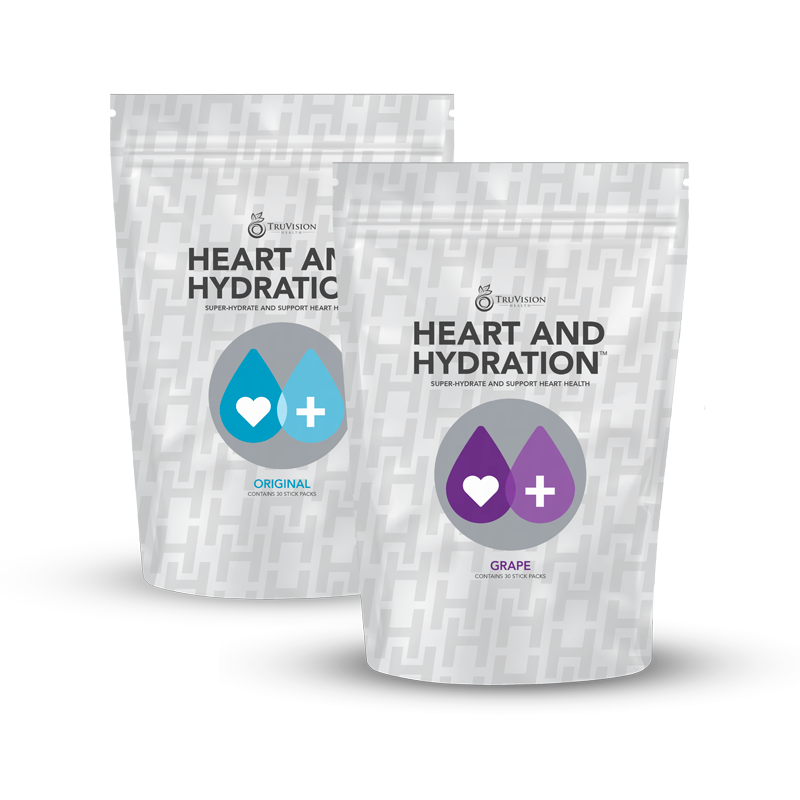 promote healthy heart and hydration electrolyte replenishment